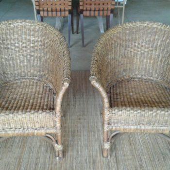 Cadeiras em Junco Natural - Antes