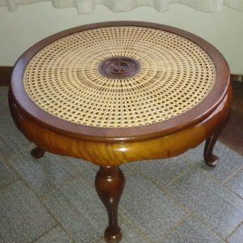 Mesa de Centro Empalhada